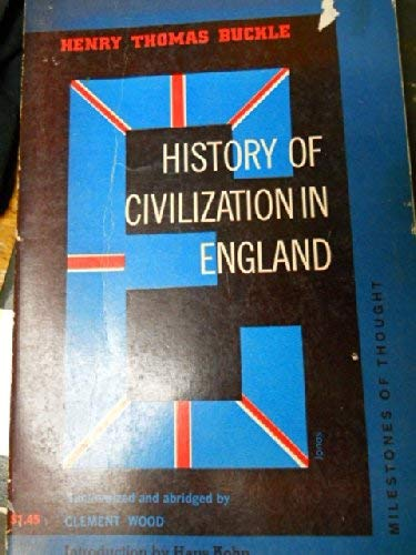 9780804460620: History of civilization in England