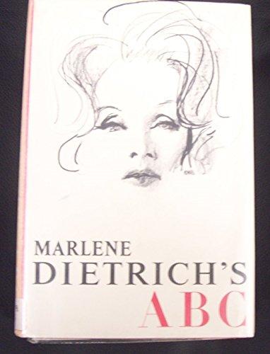 Marlene Dietrich's ABC: Marlene Dietrich