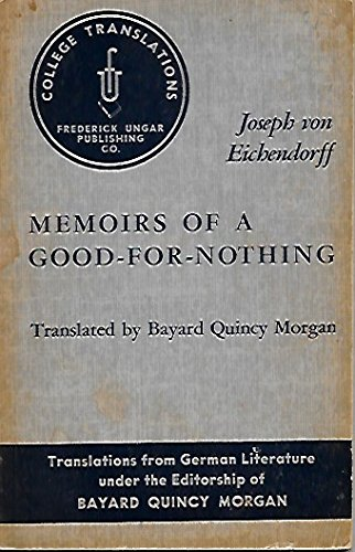 9780804461344: Memoirs of a Good-for-Nothing (College Translations)