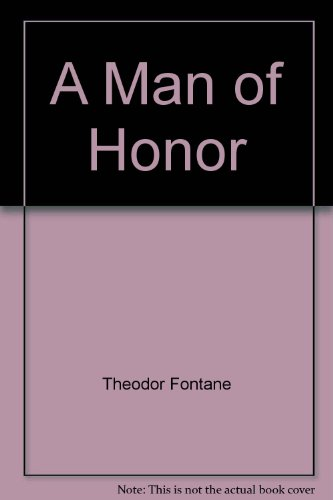 9780804461559: A Man of Honor