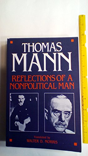 9780804464826: Reflections of a Nonpolitical Man