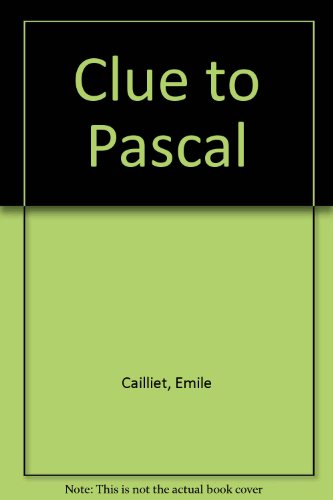 9780804610087: Clue to Pascal