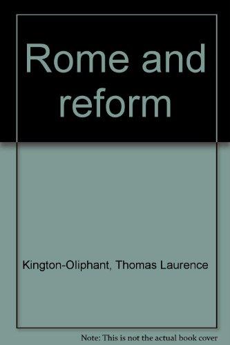 Rome and reform: Thomas Laurence Kington-Oliphant