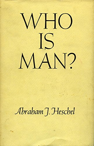 9780804702652: Who Is Man? (The Raymond Fred West Memorial Lectures)