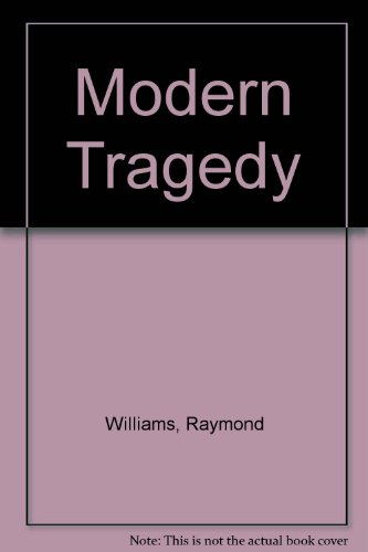 Modern Tragedy (0804703132) by Raymond Williams
