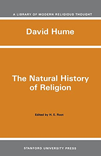 9780804703338: The Natural History of Religion (Library of Modern Religious Thought)