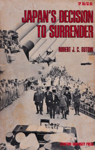 9780804704618: Japan's Decision to Surrender