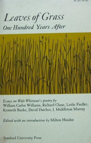 9780804704656: Leaves of Grass One Hundred Years After