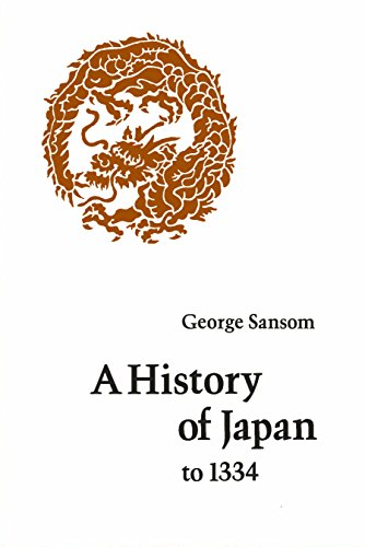 9780804705226: History of Japan to 1334