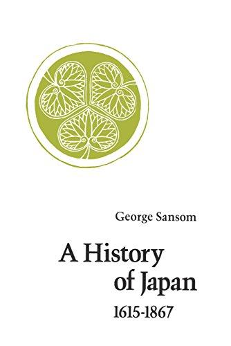 9780804705264: History of Japan: 1615-1867