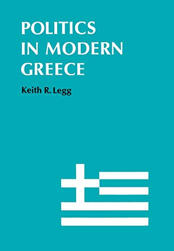 9780804707053: Politics in Modern Greece