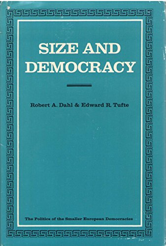 9780804708340: Size and Democracy (Politics of the Smaller European Democracies)