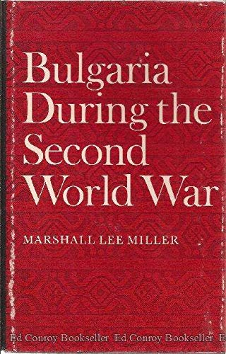 9780804708708: Bulgaria During the Second World War