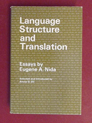 9780804708852: Language Structure and Translation: Essays (Language Science and National Development)