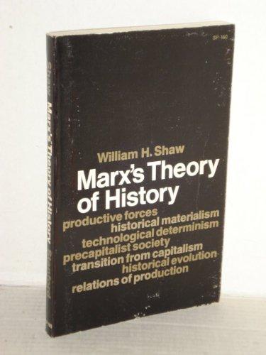 9780804709606: Marx's Theory of History