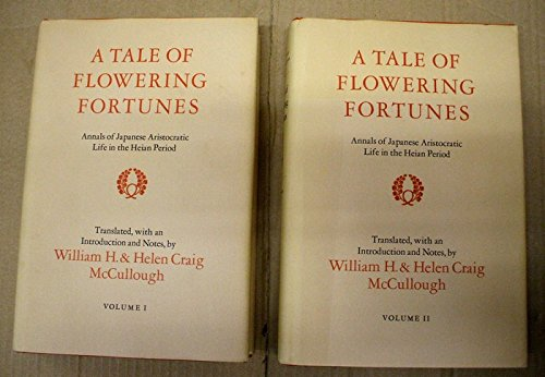 9780804710398: Tale of Flowering Fortunes: Annals of Japanese Aristocratic Life in the Heian Period.