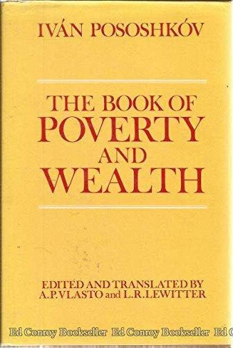 The Book of Poverty and Wealth: Lewitter, L. R.,