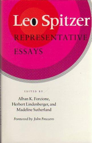 9780804713672: Leo Spitzer: Representative Essays