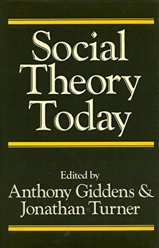 9780804713979: Social Theory Today
