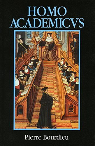 9780804714662: Homo Academicus (English and French Edition)