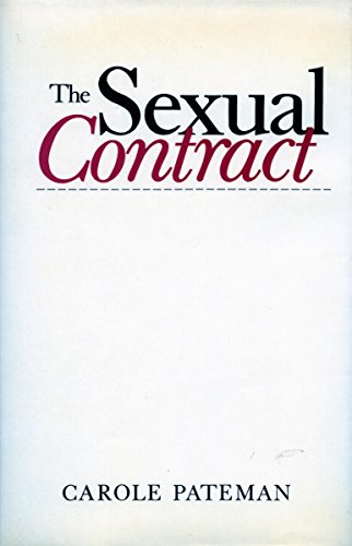9780804714761: The Sexual Contract