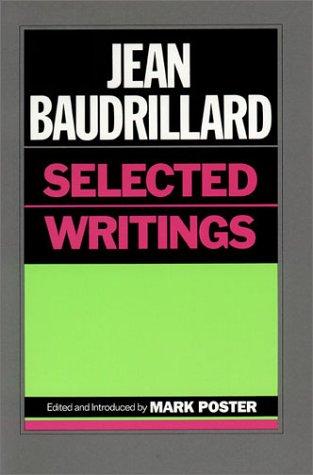 9780804714808: Jean Baudrillard: Selected Writings