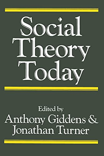 9780804715140: Social Theory Today