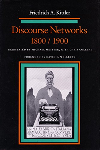 9780804716161: Discourse Networks, 1800/1900