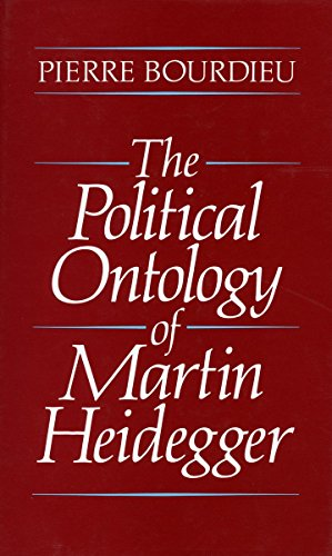 9780804716987: The Political Ontology of Martin Heidegger