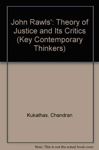 9780804717687: Rawls: A Theory of Justice and Its Critics