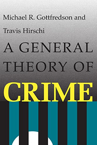 9780804717731: A General Theory of Crime