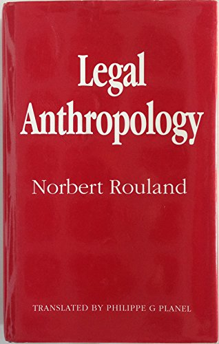 9780804719315: Legal Anthropology