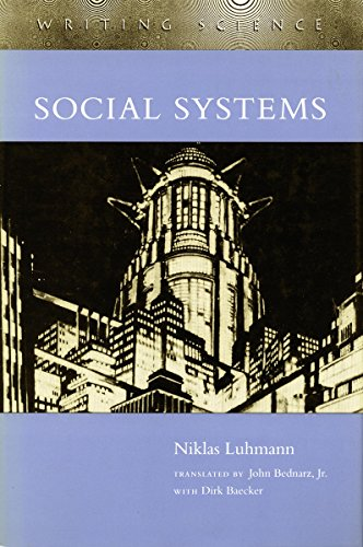 9780804719933: Social Systems (Writing Science)