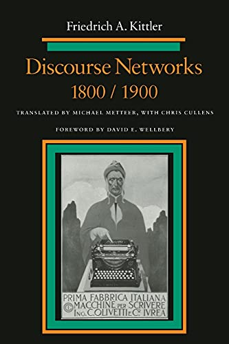 9780804720991: Discourse Networks, 1800/1900