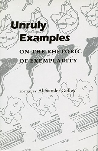 9780804724005: Unruly Examples: On the Rhetoric of Exemplarity