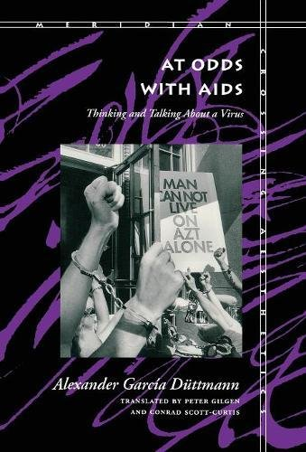 9780804724371: At Odds with AIDS: Thinking and Talking About a Virus (Meridian: Crossing Aesthetics)