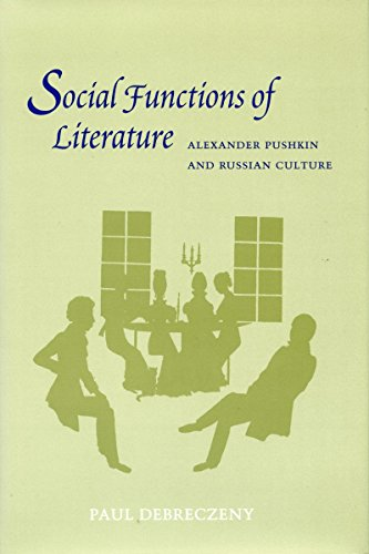 9780804726627: Social Functions of Literature: Alexander Pushkin and Russian Culture