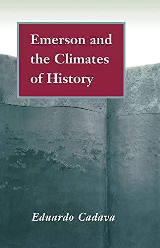 9780804728140: Emerson and the Climates of History