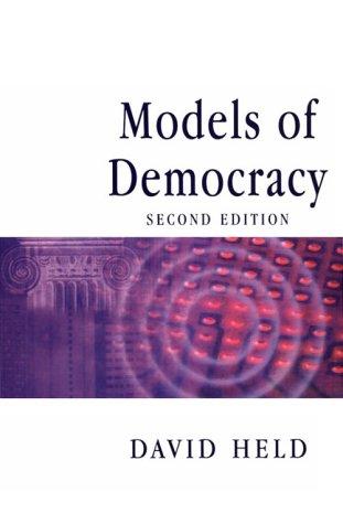 9780804728614: Models of Democracy