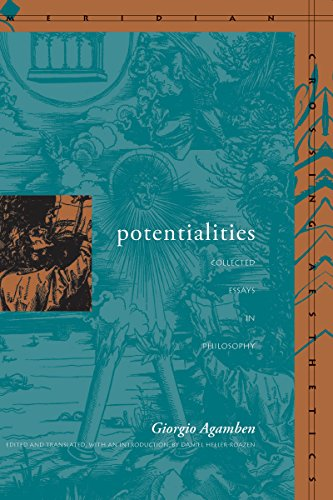 Potentialities: Collected Essays in Philosophy (0804732779) by Agamben, Giorgio