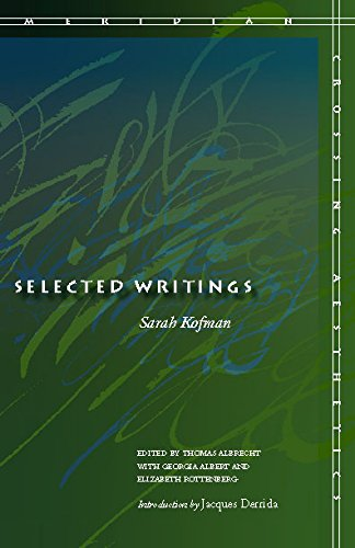 9780804732963: Selected Writings (Meridian: Crossing Aesthetics)