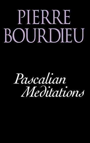 9780804733311: Pascalian Meditations