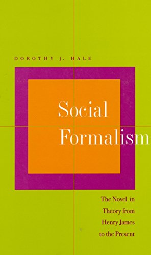 9780804733557: Social Formalism: The Novel in Theory from Henry James to the Present