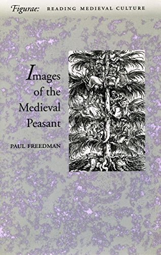 9780804733724: The Image of the Medieval Peasant as Alien and Exemplary (Figurae: Reading Medieval Culture)