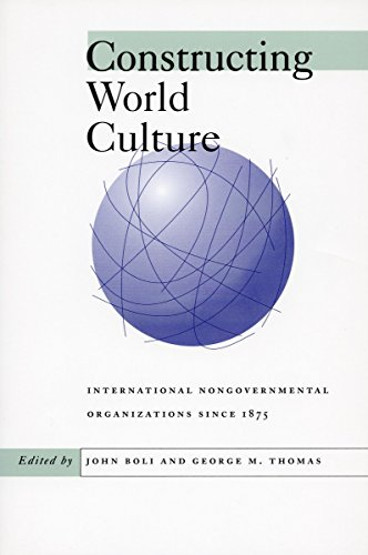 9780804734219: Constructing World Culture: International Nongovernmental Organisations Since 1875
