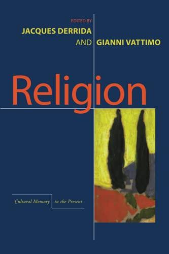 9780804734875: Religion (Cultural Memory in the Present)