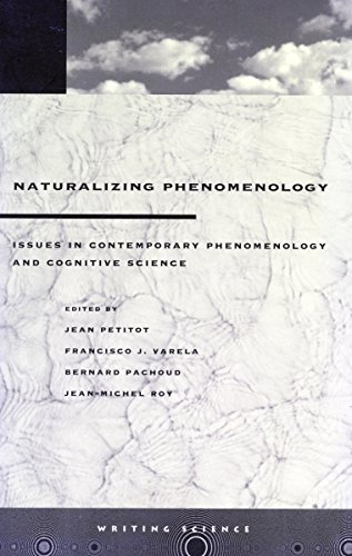 9780804736107: Naturalizing Phenomenology: Issues in Contemporary Phenomenology and Cognitive Science (Writing Science)