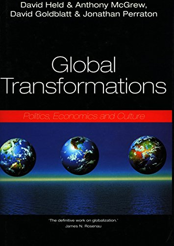 9780804736251: Global Transformations: Politics, Economics and Culture
