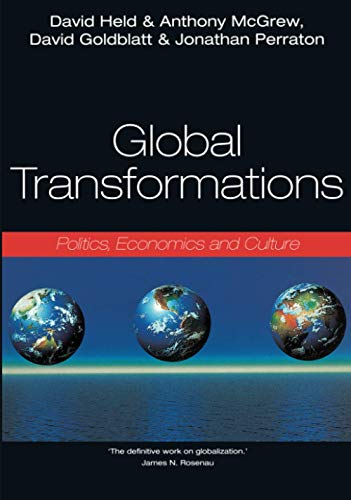 9780804736275: Global Transformations: Politics, Economics, and Culture