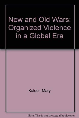 9780804737210: New and Old Wars: Organized Violence in a Global Era